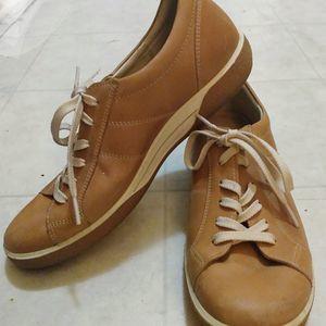 Womens ECCO 39 (US 8.5-9)Tan Brown Leather Fashion